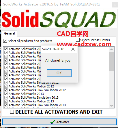 Solidworks 2013 Activator Solidsquad